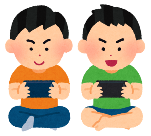 game_friends_smartphone_boy